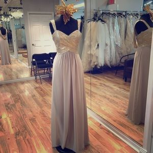 Dresses & Skirts - Long sequin top gown